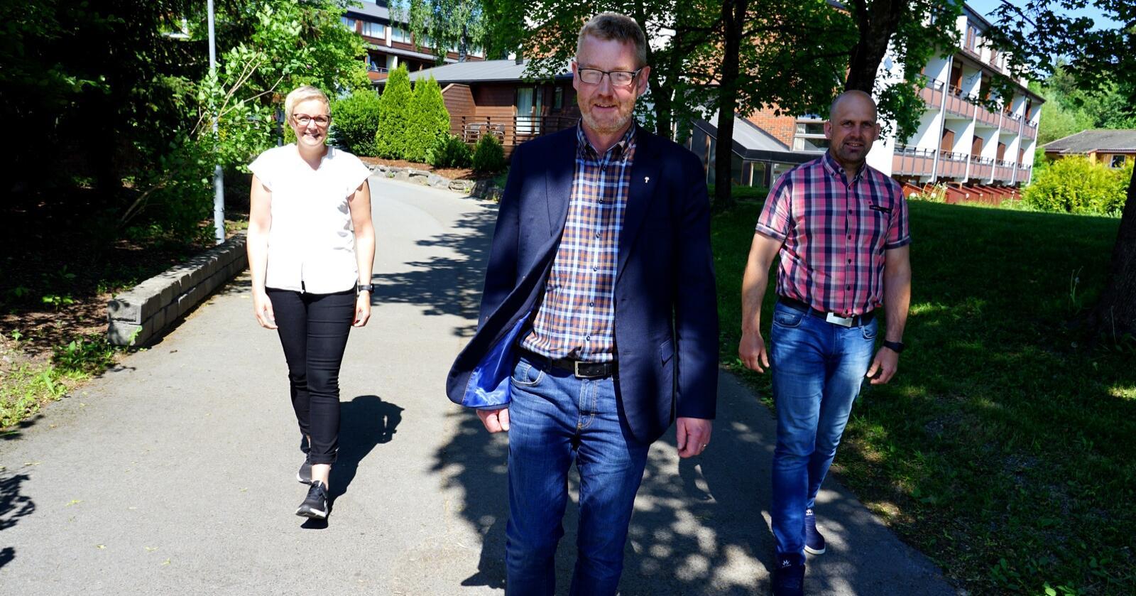 Luktet lunta: Bjørn Gimming og resten av styret i Norges Bondelag så hvor det bar - og droppet representantskapets forslag. Foto: Lars Bilit Hagen