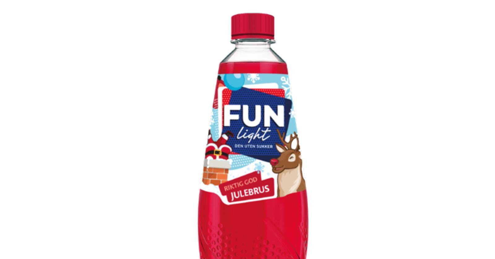 Fun Light med smaken av julebrus ble raskt utsolgt i butikkene. Foto: Orkla