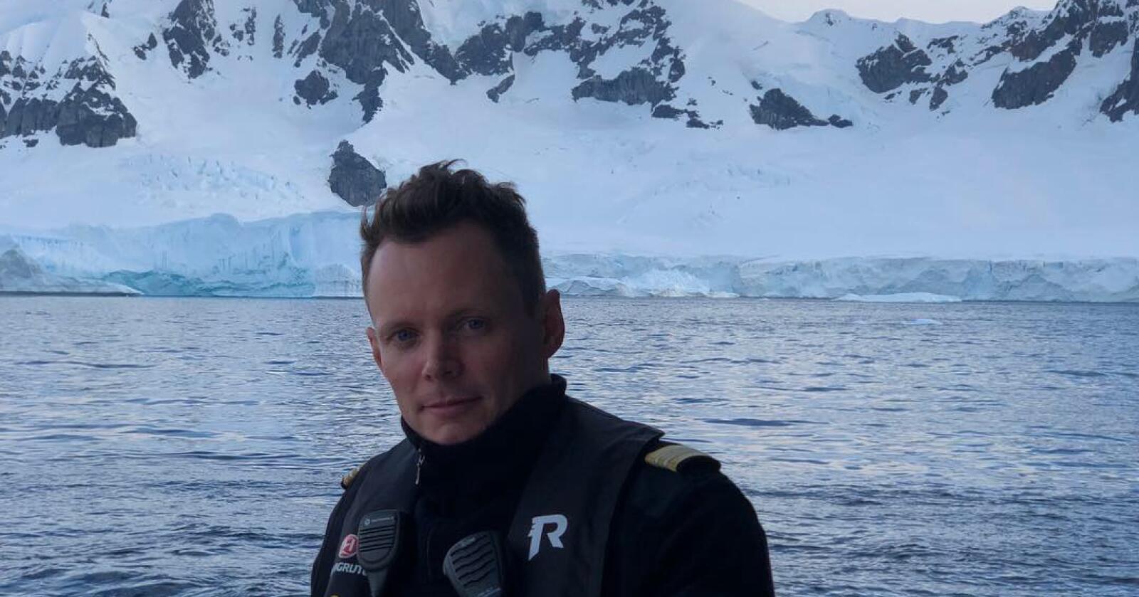 Kristian Sætrehaug sa opp jobben etter 15 år på grunn av koronahandteringa i Hurtigruten. Foto: Privat