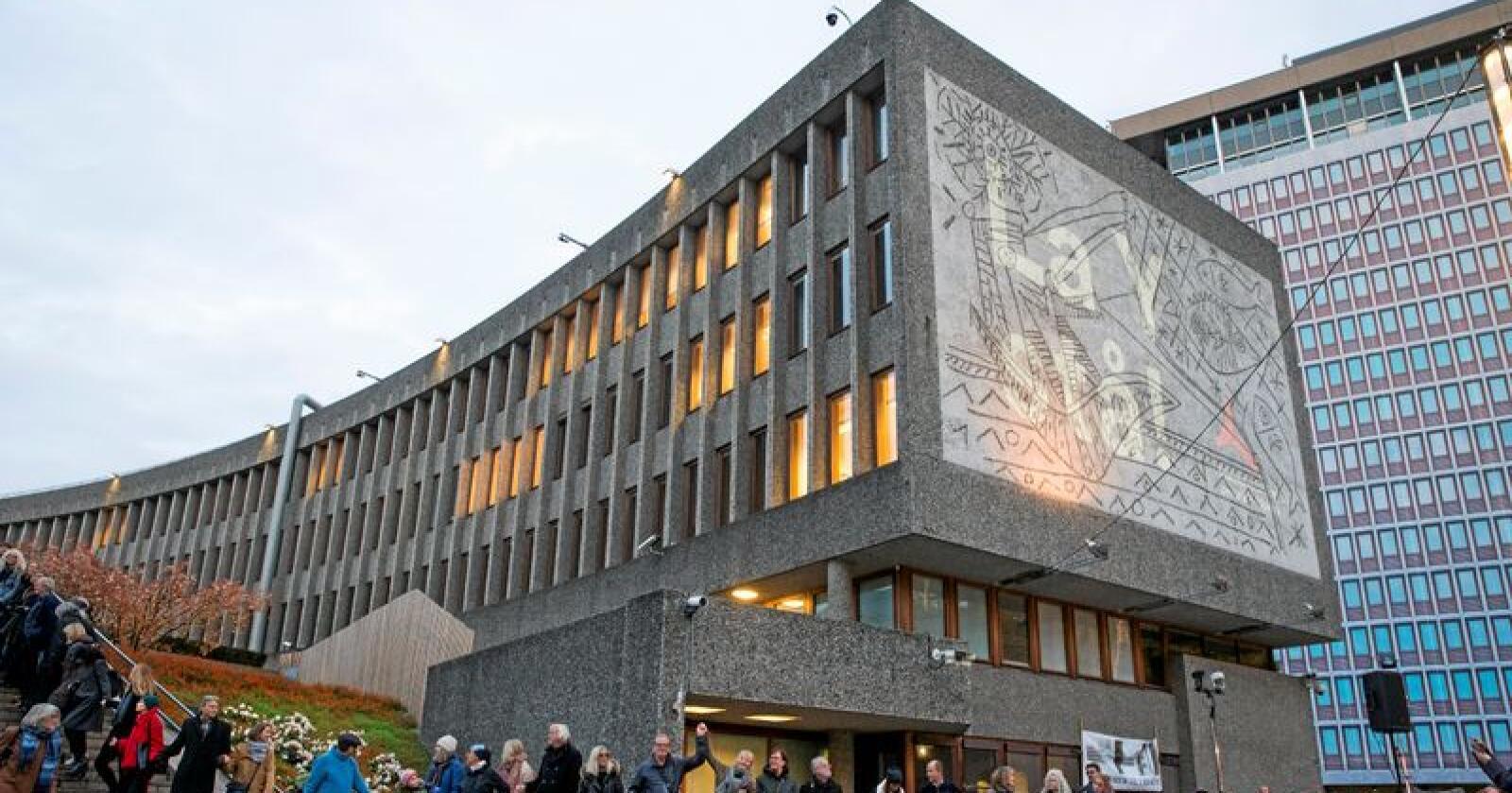 Picasso: Den kjente kunstneren Pablo Picasso har utsmykket Y-blokka i Oslo. Foto: Håkon Mosvold Larsen / NTB scanpix