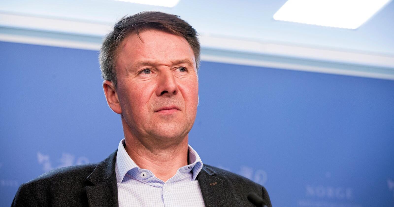 Utfordres: Leder i Norges Bondelag, Lars Petter Bartnes. Foto: Terje Pedersen/NTB scanpix