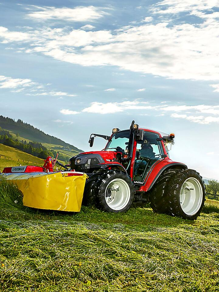 Lindner er av Europas minste traktorprodusenter, men det hindrer ikke familiebedriften i Østerrike