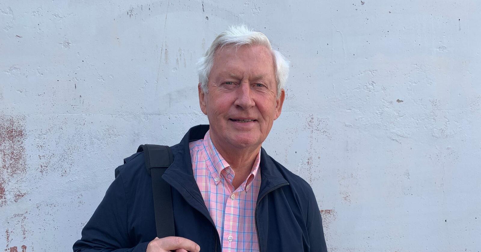 Osmund Ueland er tidlegare konsernsjef for NSB og er prosjektleiar for Farm for the future. Foto: Andrea Sørøy