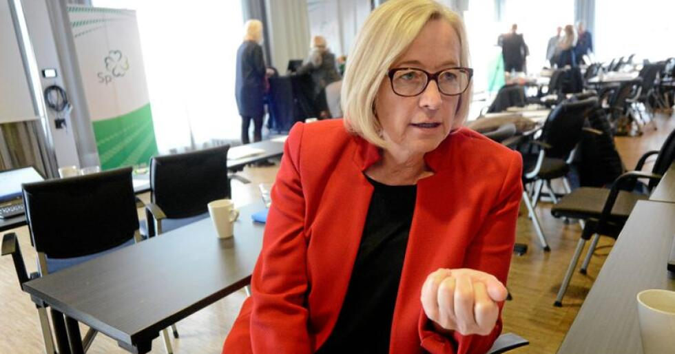 Sp-politiker: Marit Arnstad. Foto: Siri Juell Rasmussen