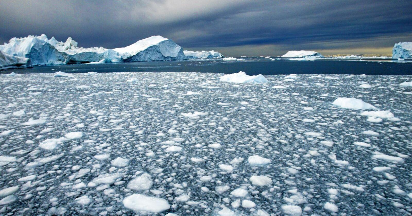 Sårbare områder: Skal vi bore etter olje i sårbare områder, som Arktis? Foto: Jan-Morten Bjørnbakk / NTB scanpix