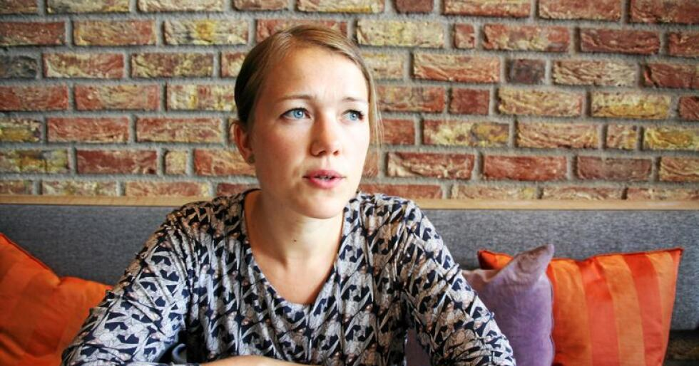 Une Aina Bastholm, nasjonal talspeson og stortingsrepresentant for Miljøpartiet de Grønne. Foto: Lars Bilit Hagen