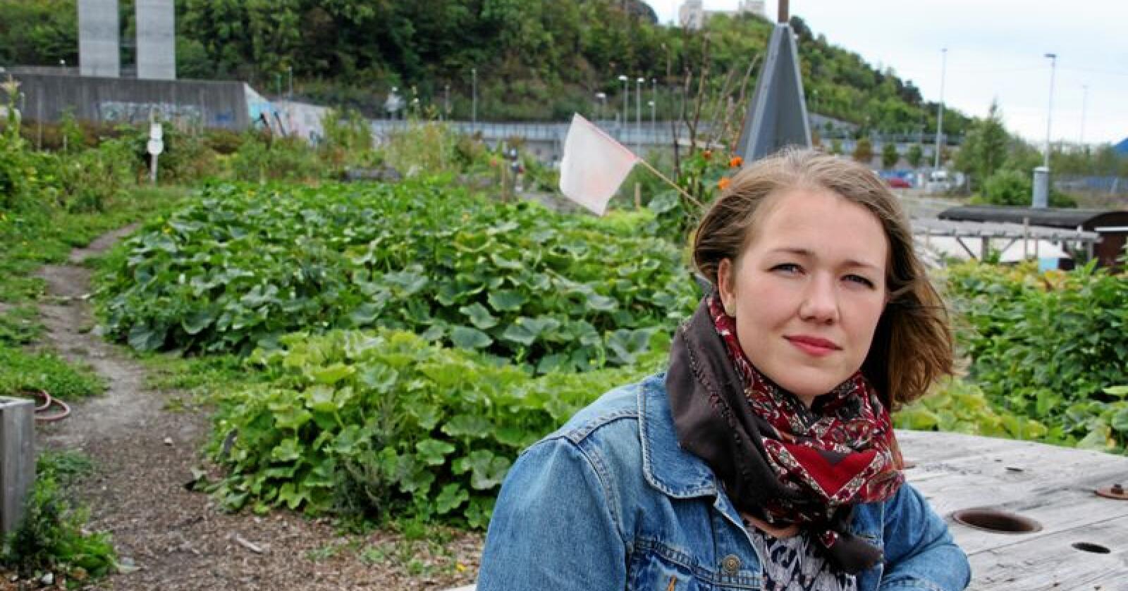 Une Aina Bastholm i Miljøpartiet dei grøne. Foto: Lars Bilit Hagen