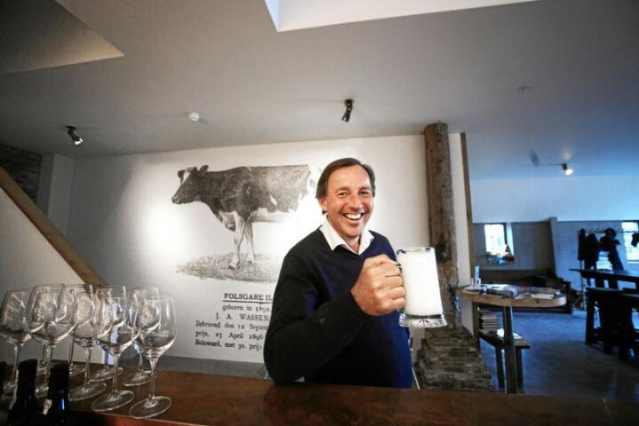 Jan Bels er direktør for forretningsutvikling i Friesland Campina og satser på afrikansk melkeproduksjon. Foto: Siri Juell Rasmussen
