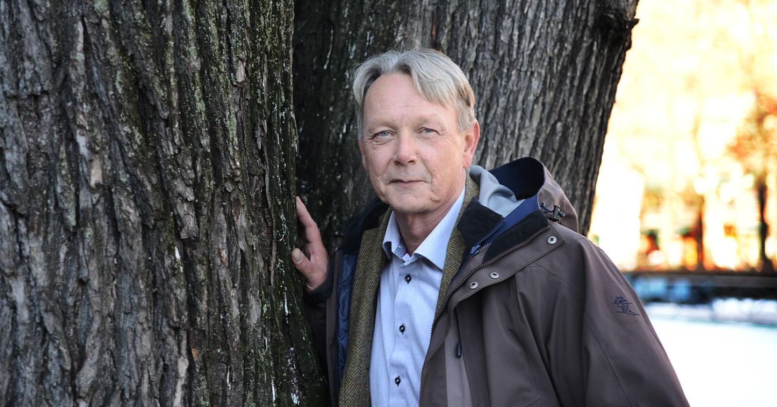 Administrerende direktør i Norskog, Arne Rørå, mener ikke man bør regne inn CO2-opptaket fra skog i klimamålene for å få en lettvint vei til målet, men for å vise Norges samlede bidrag. Foto: Siri Juell Rasmussen