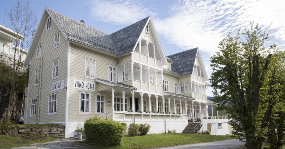 Visnes Hotel er blant dei nye medlemmene i den prestisjefulle organisasjonen De Historiske Hotel & Spisesteder. Foto: Terje Pedersen / NTB scanpix/ NPK