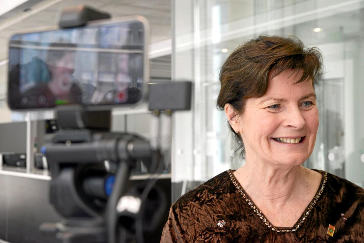 Sjukemeldt: Leiar Merete Furuberg i Norsk Bonde- og Småbrukarlag er på nytt ramma av kreft. Foto: Siri Juell Rasmussen