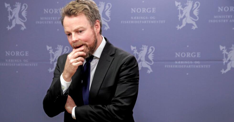 Næringsminister Torbjørn Røe Isaksen (H).