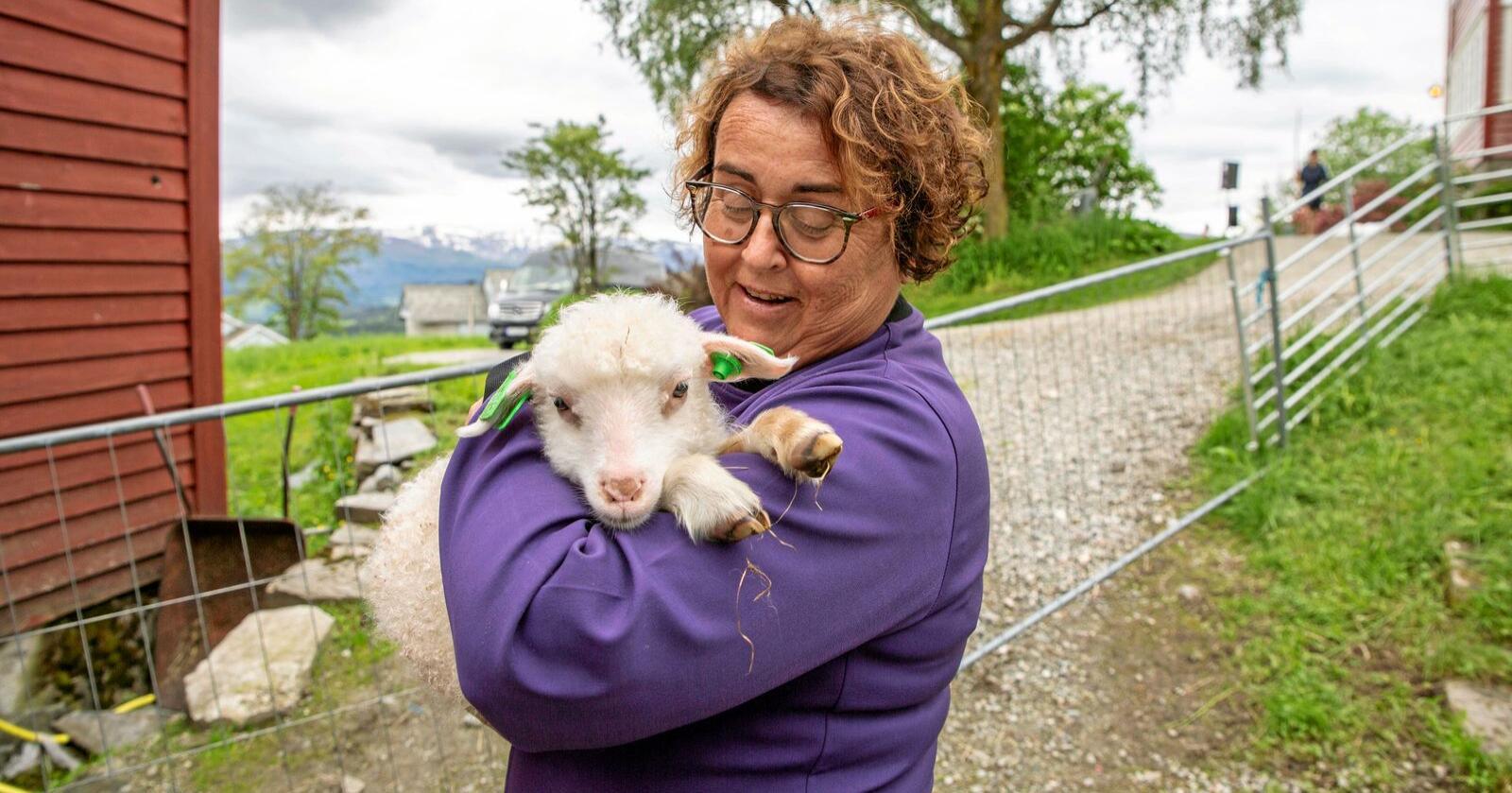 Må spørje seg sjølv: Landbruksminister Olaug Bollestad må spørje seg kva interesser ho meiner skal liggje til grunn for marknadsregulering av jordbruksvarer. Foto: Kari Nygard Tvilde