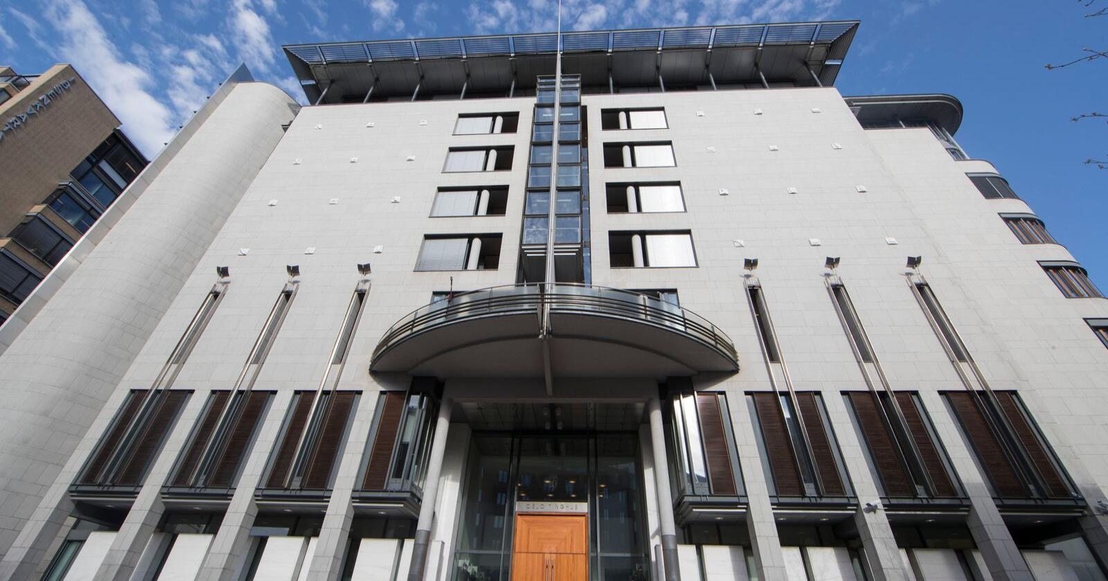 Hovedforhandlingene finner sted i sal 828 i Oslo tingrett i september og oktober. Foto: Terje Pedersen / NTB scanpix