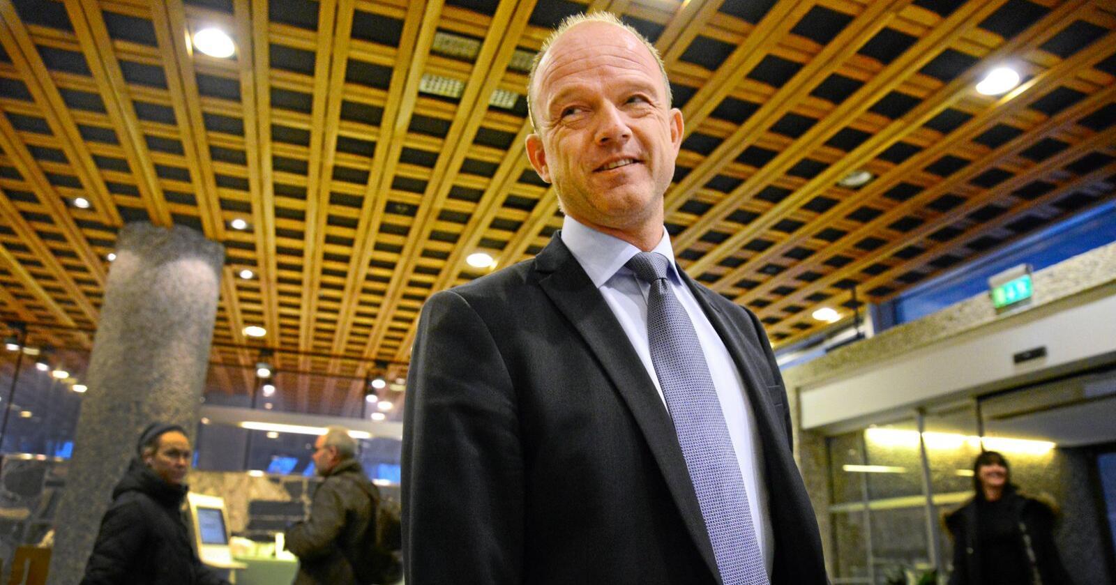 Vindkraft: NHO-sjef Ole Erik Almlid gir ikke blankofullmakt til vindkraftutbyggerne. Foto: Siri Juell Rasmussen