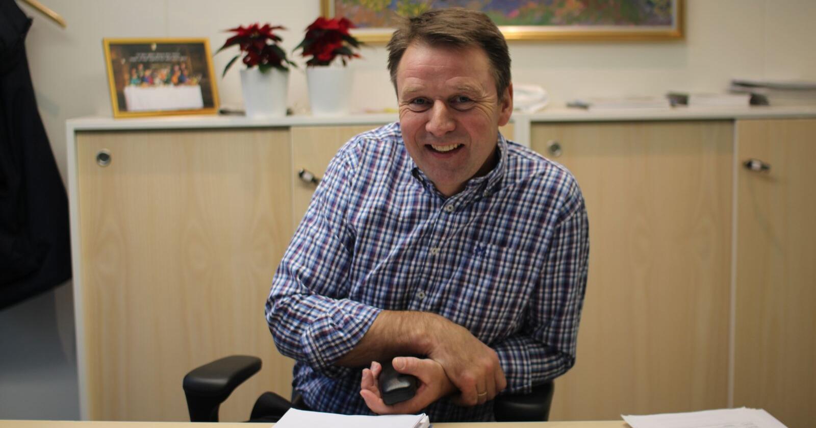 Sannheten er at vi bruker store ressurser for svinenæringa, skriver Lars Petter Bartnes. (Foto: Guro Bjørnstad)