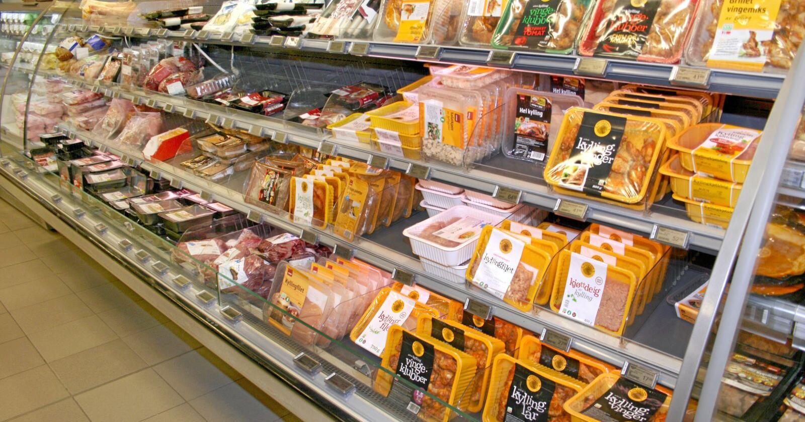 Det blei oppdaga listeria i produksjonsanlegget for steikte produkt hjå Den Stolte Hane i Stokke søndag. Foto: Bjarne Bekkeheien Aase