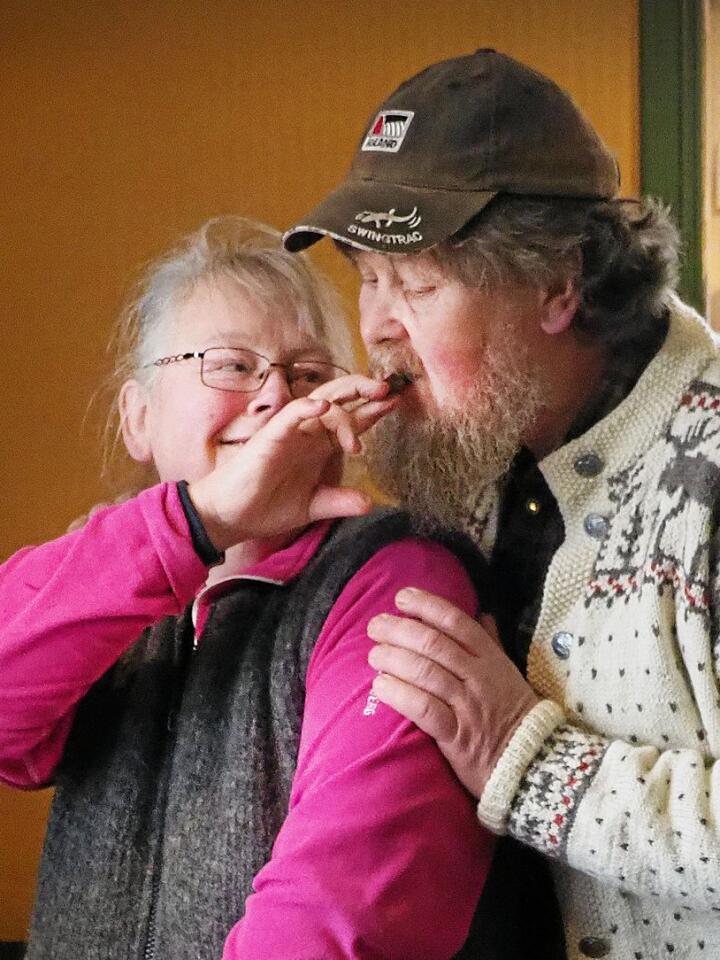 Grete og Bent har hatt lidenskap for mat og selvforsyning så lenge de har kjent hverandre.Foto: Siri Juell Rasmussen