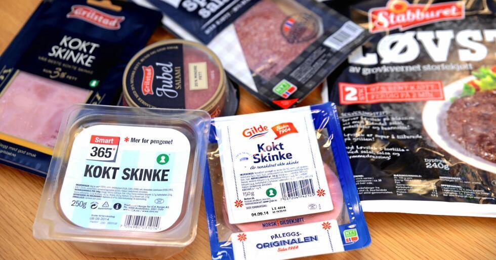 Nyt norsk eller ikkje: Nyt Norge-merket har etablert seg som eit tydeleg merke for norsk mat. Kanskje burde bøndene bruke marknadsføringspengane på norsk mat, i staden for å finansiere importert kjøtt. Foto: Mariann Tvete
