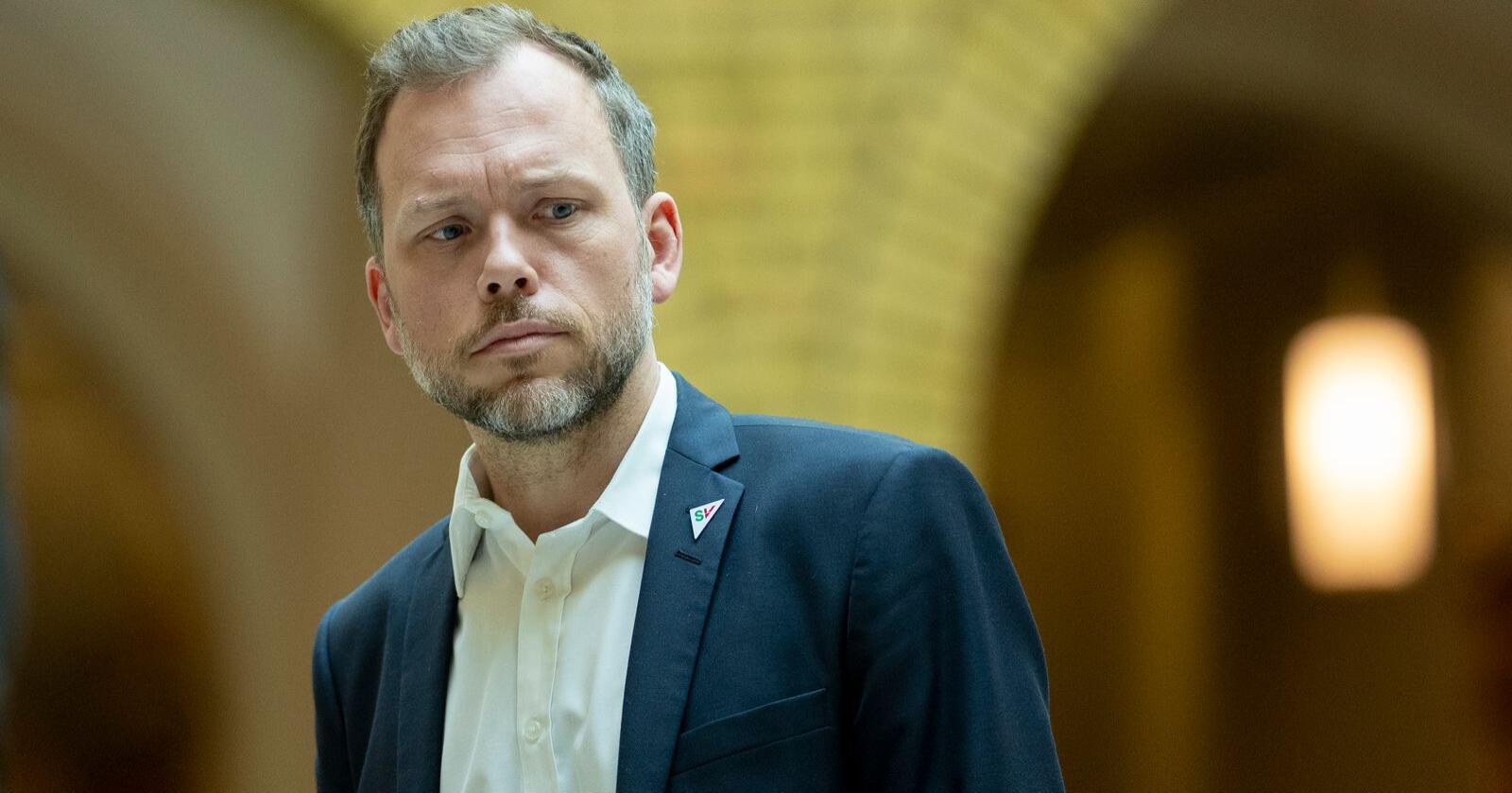 – Ønsket om en utvidelse er stort. Jeg tror tiden er moden for det, sier SV-leder Audun Lysbakken. Foto: Fredrik Hagen / NTB