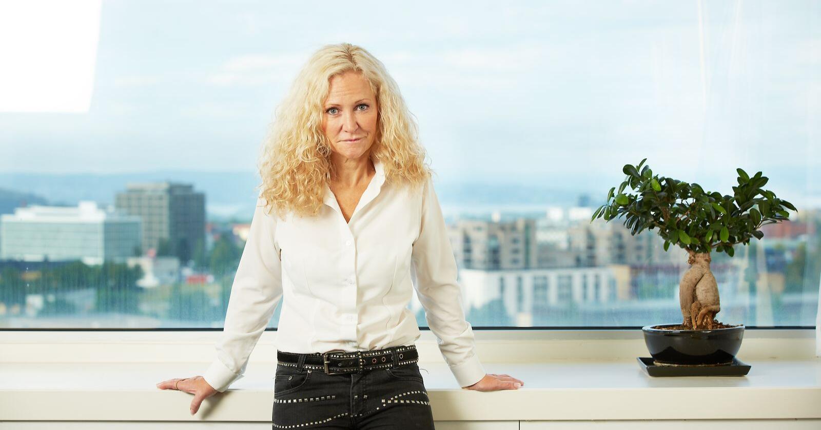 Guri Wormdahl er kommunikasjonssjef i Pelsdyralslaget. (Pressebilde)