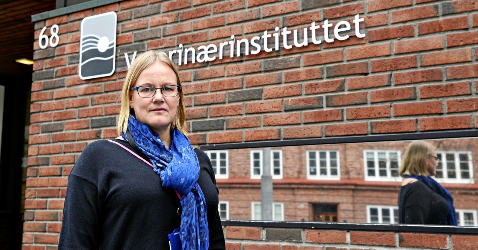 Anne Margrete Urdahl, seniorforsker ved Veterinærinstituttet. Foto: Mariann Tvete