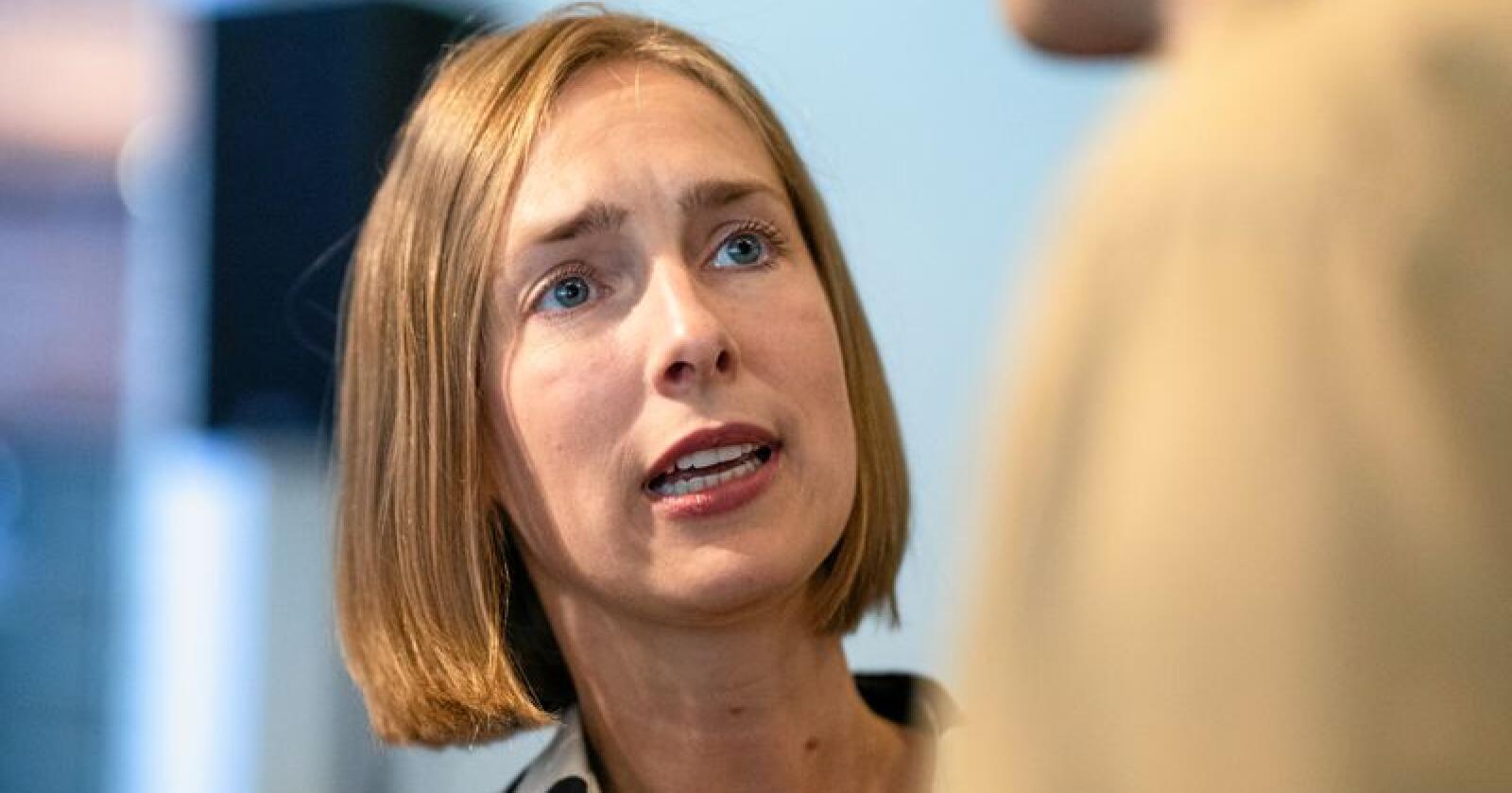 Står uten troverdighet: Forsknings- og høyere utdanningsminister Iselin Nybø. Foto: Audun Braastad / NTB scanpix