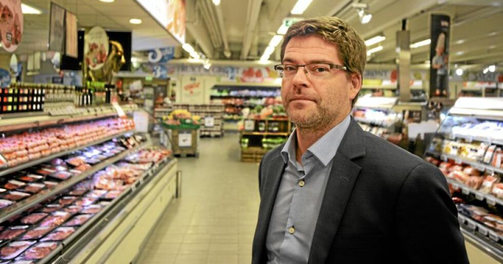 Kommunikasjonssjef Harald Kristiansen i Coop Norge bekrefeter at det var salmonella i et parti av karbonadedeigen deres. Foto: Siri Juell Rasmussen