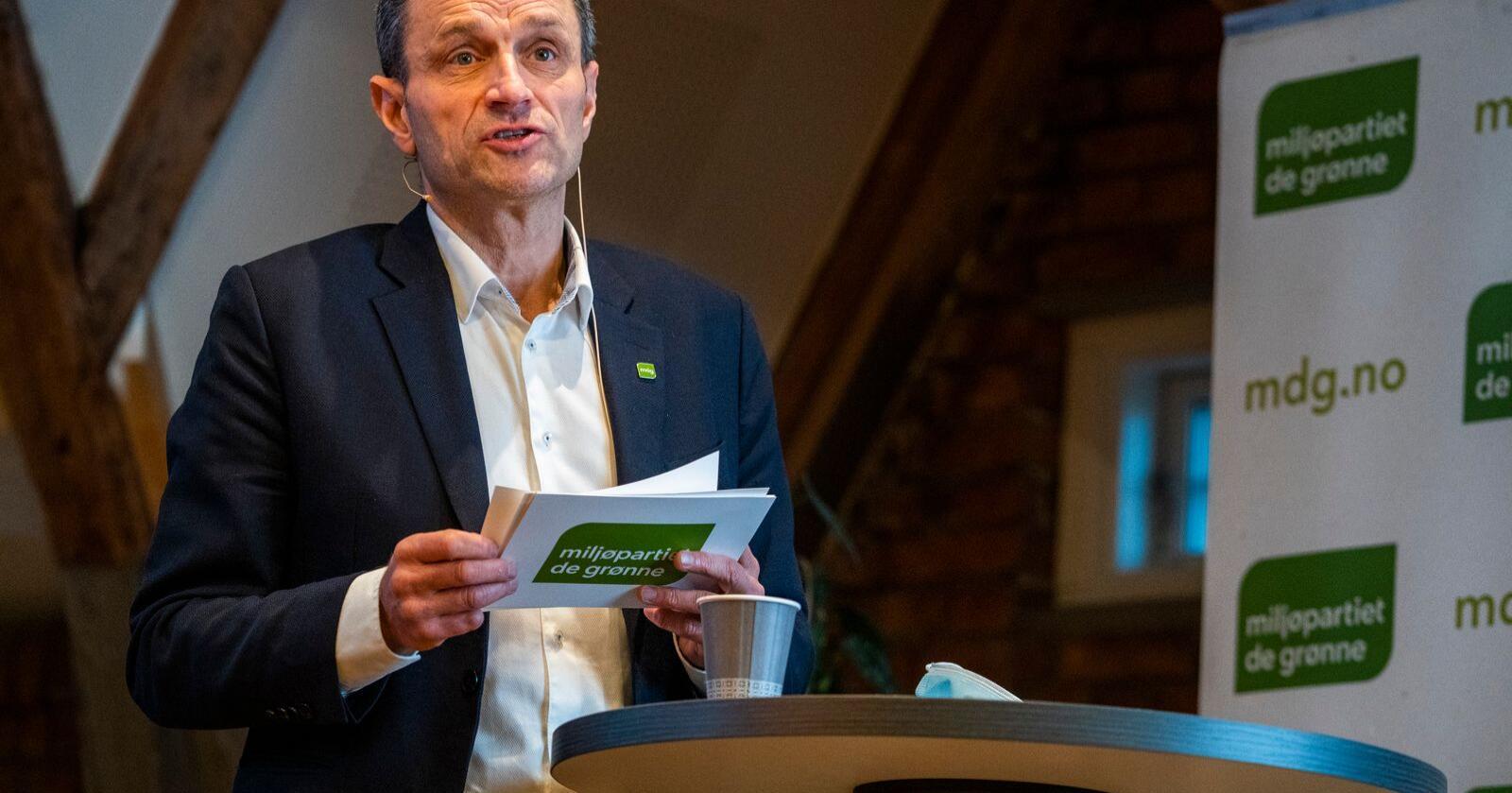 Storbymann: MDGs fungerende nestleder Arild Hermstad legger for stor vekt på nasjonale føringer, mener innsenderen.  Foto: Håkon Mosvold Larsen / NTB