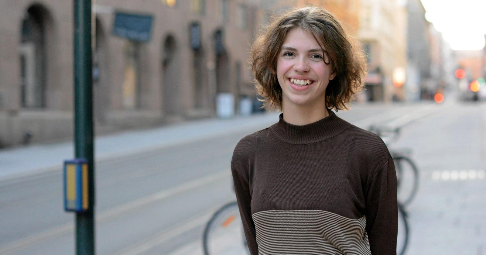 Norge er avhengig av bonden, skriver Alberte Tennøe Bekkhus, leder i Rød Ungdom. Foto: Rød Ungdom