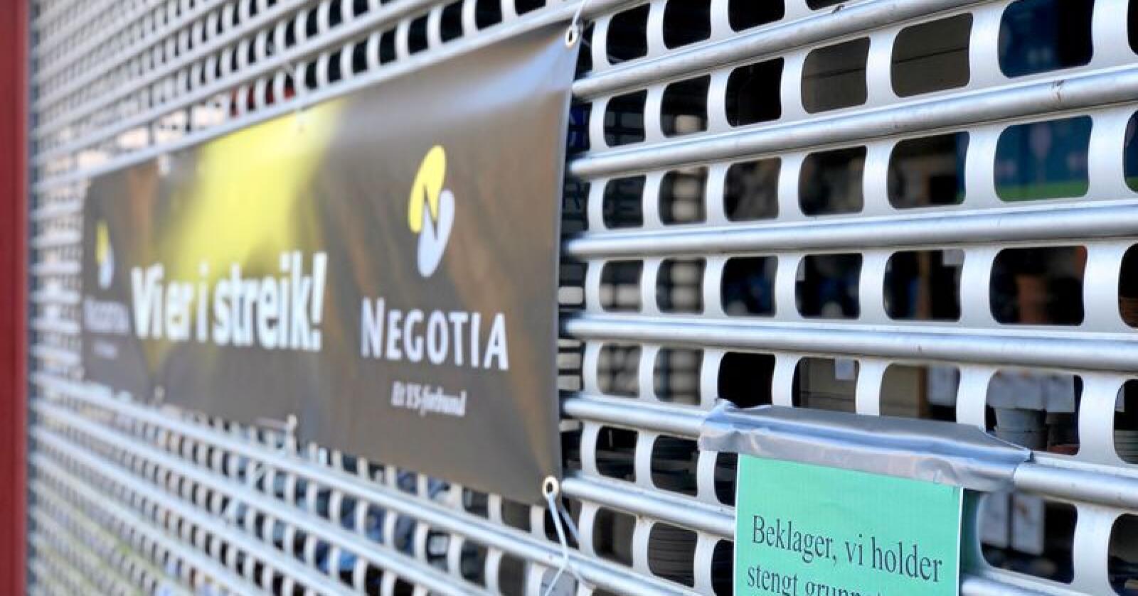 Negotia, forbundet til de ansatte i Felleskjøpet, hevder Felleskjøpet lyver om hvem som sendte tilbudet til løsning på konflikten mellom partene. Foto: Line Omland Eilevstjønn