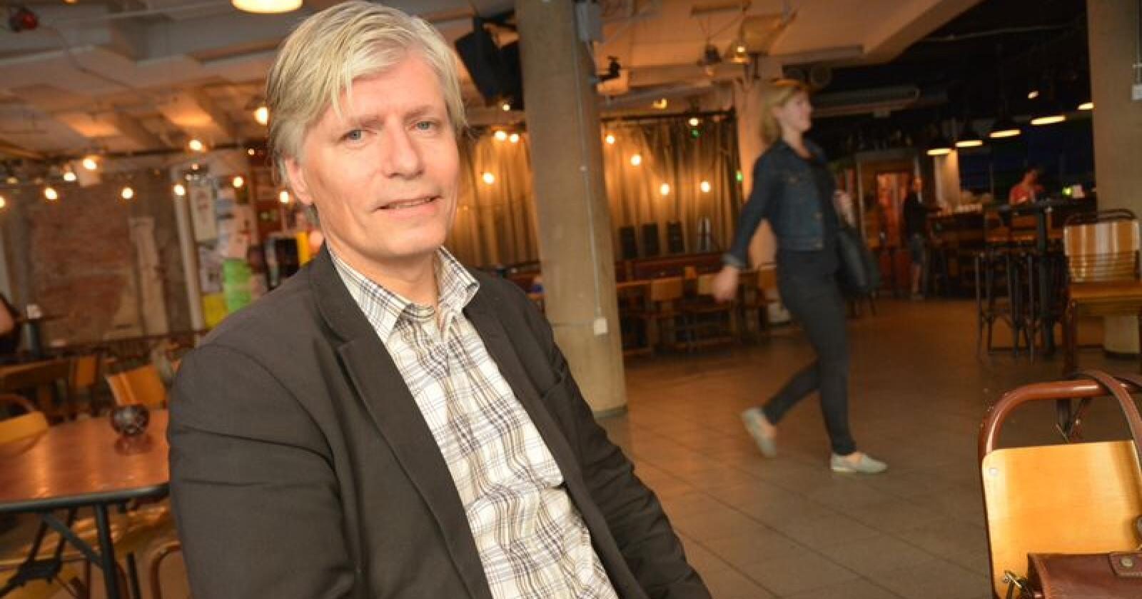 Nestleder Ola Elvestuen i Venstre er ny klima- og miljøminister. Bildet er tatt ved en tidligere anledning. Foto: Anders Sandbu