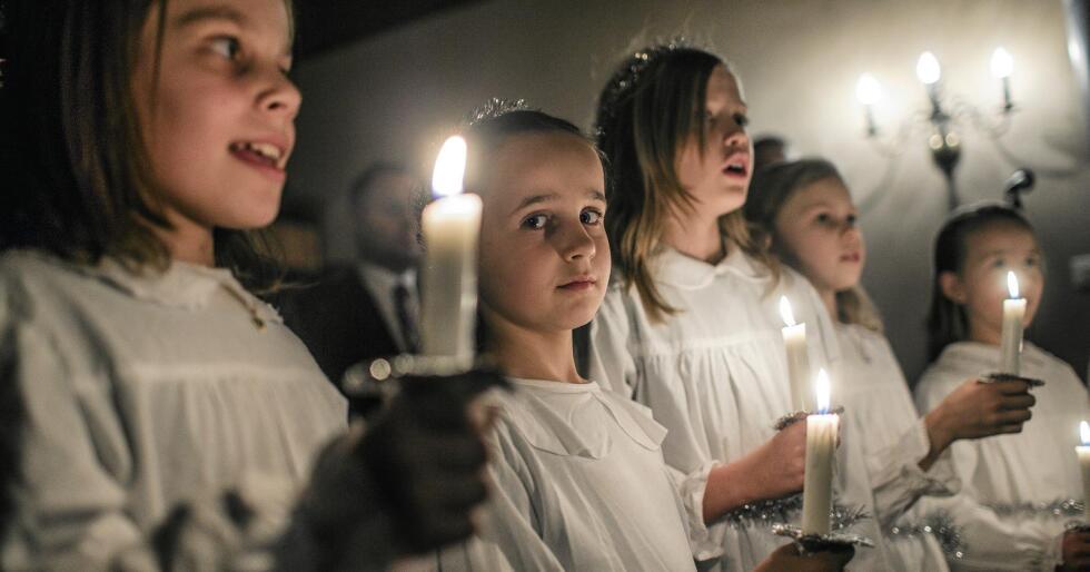 Fritak: Skal det være mulig å reservere seg mot å synge salmer, gå i Lucia-tog og å delta i skolegudstjenesten? Foto: Stian Lysberg Solum/NTB scanpix