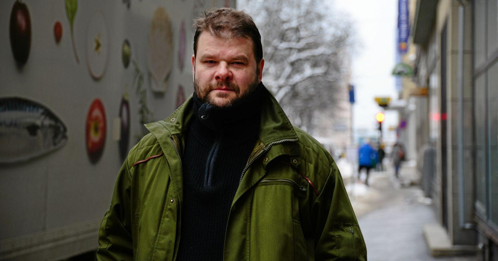 Fredrik Mellem er generalsekretær i Europabevegelsen. Foto: Siri Juell Rasmussen