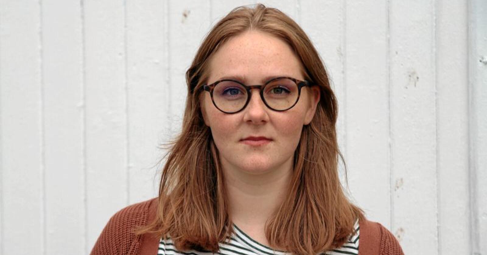 Embla Regine Mathisen, leder i Changemaker. Foto: Changemaker
