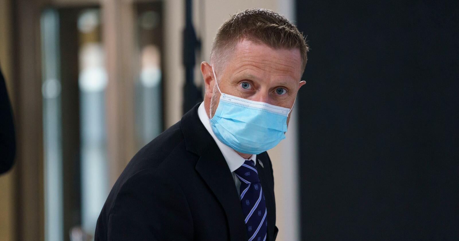 Helse- og omsorgsminister Bent Høie (H) sier Norge følger nøye med på spredningen av den indiske virusvarianten. Foto: Torstein Bøe / NTB