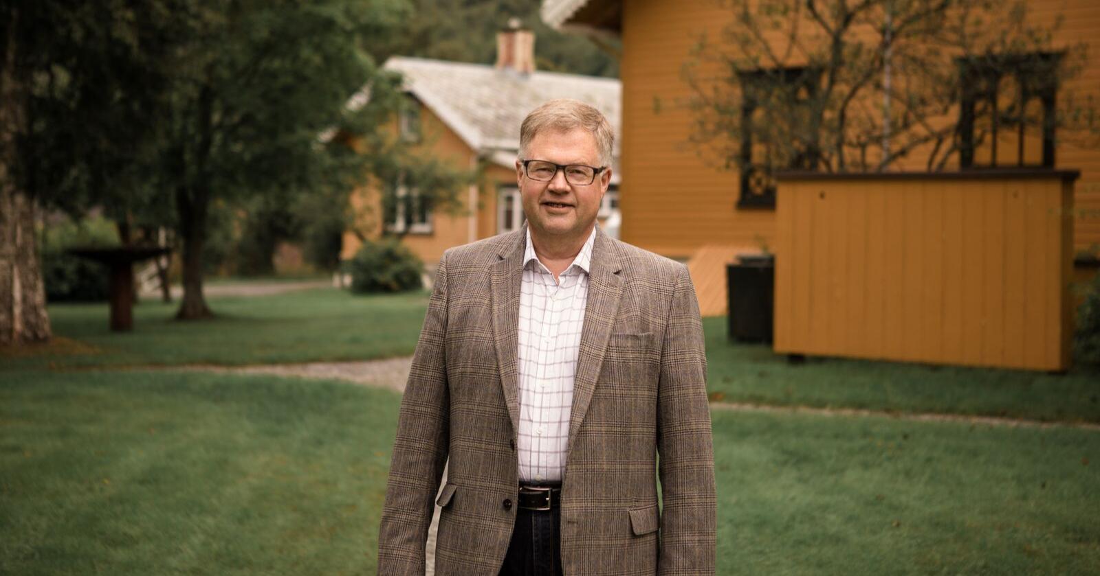 Bjørn Wiggen er styreleder og deleier i Rørosmeieriene. (Foto: Kajsa Selnes/pressebilde)