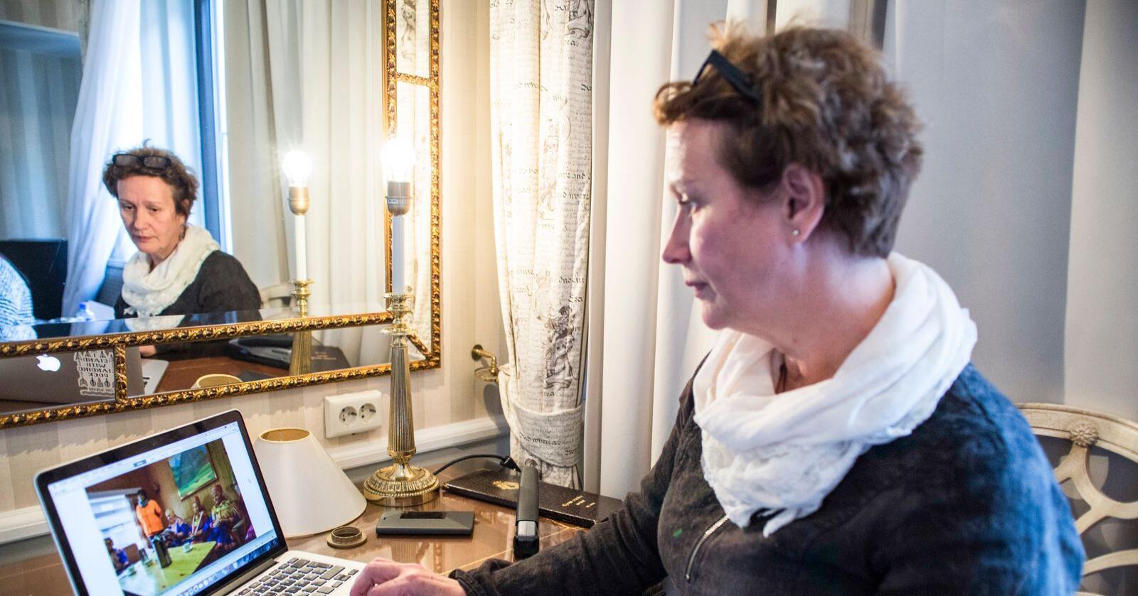 Irene Ojala er innvalgt på Stortinget, som representant fra listen Pasientfokus i Finnmark. Foto: Mariam Butt / NTB