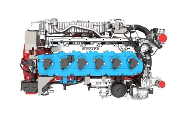 Deutz hydrogenmotorDEUTZ TCG 78 H2