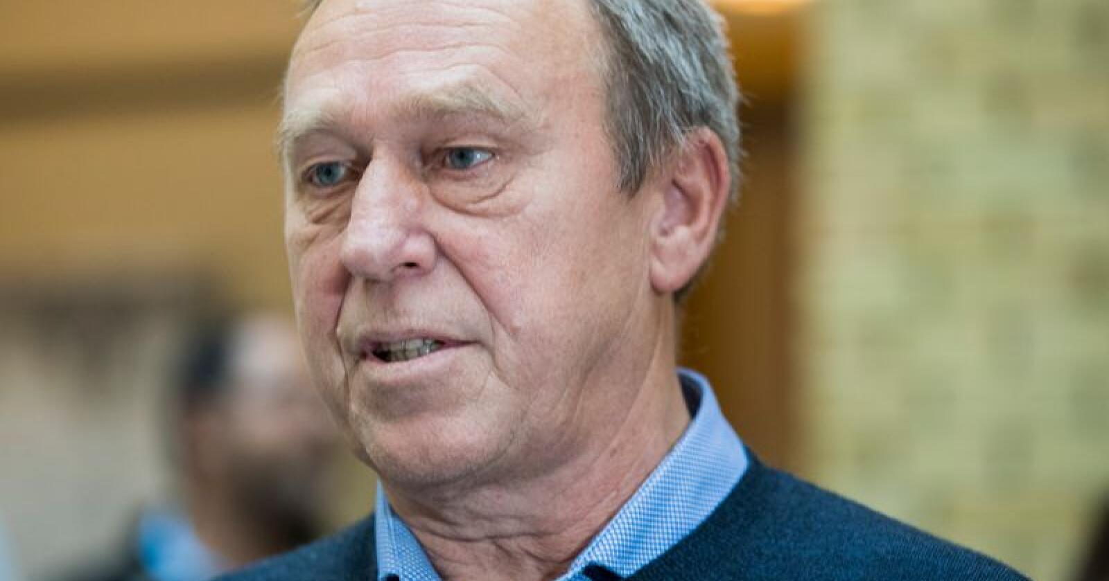 Forbundsleder i NNN Jan Egil Pedersen frykter arbeidsplasser kan gå tapt om ikke det tas grep for å sikre bøndenes økonomi. Foto: Berit Roald / NTB scanpix