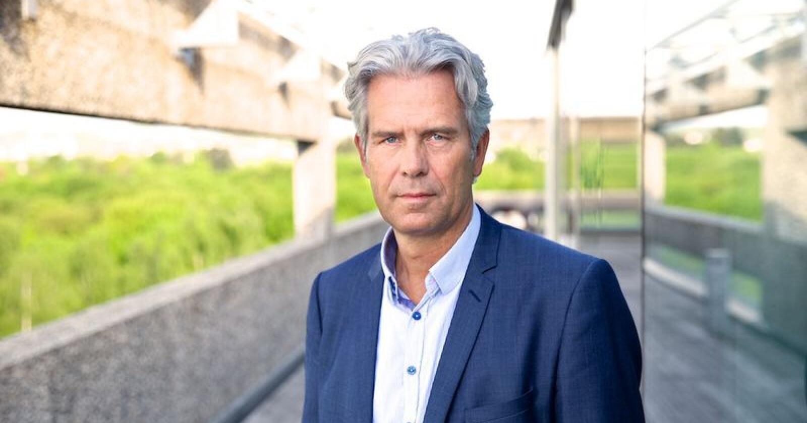 Jon Sandnes er administrerende direktør Byggenæringens Landsforening. Foto: BNL