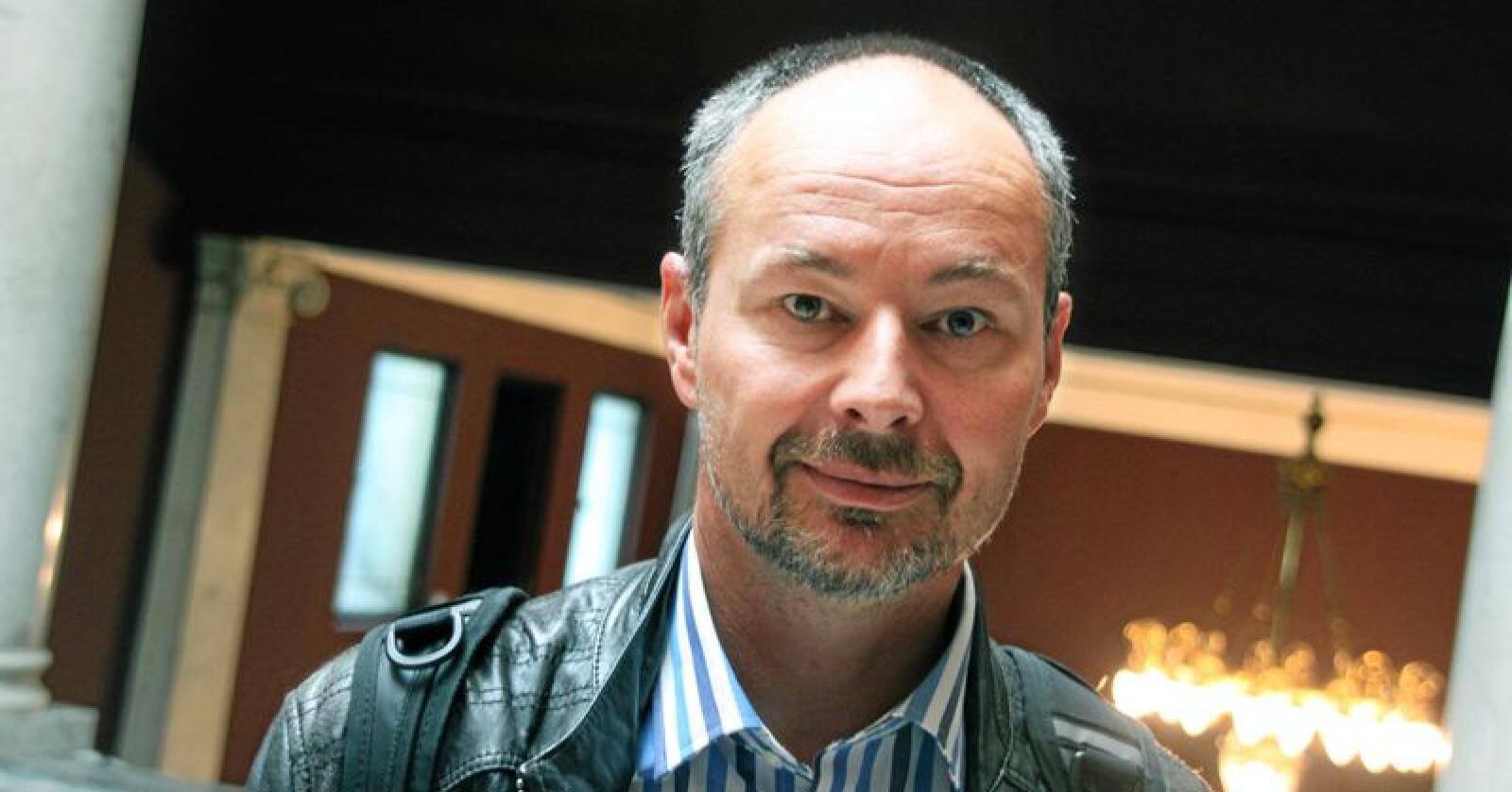 Rasmus Benestad, seniorforsker ved Meteorologisk institutt. Foto: Lars Bilit Hagen