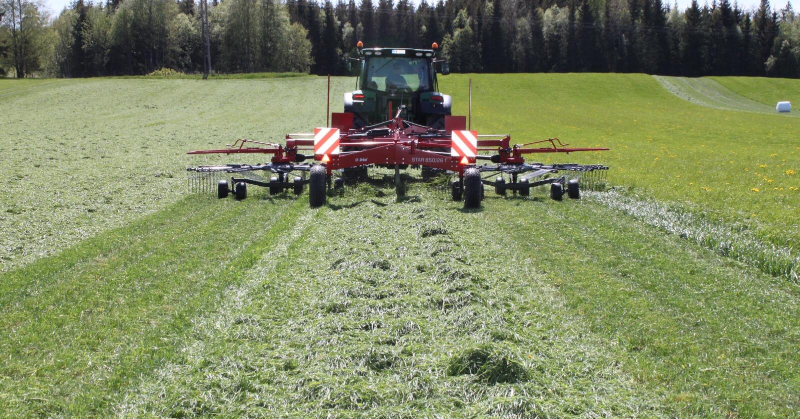 SKIFTER NAVN: Fra og med 2021 vil grasmaskinene til Orkel bære originalnavnet SIP. Arkivfoto: Norsk Landbruk