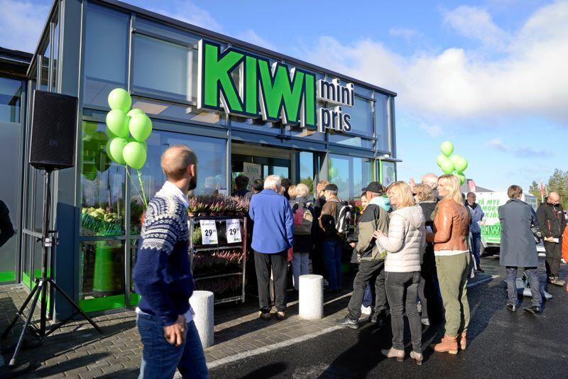 Norgesgruppen øker markedsandelene sine mest, med Kiwi i spissen. Her fra åpning av ny butikk i 2014. Foto: Mariann Tvete