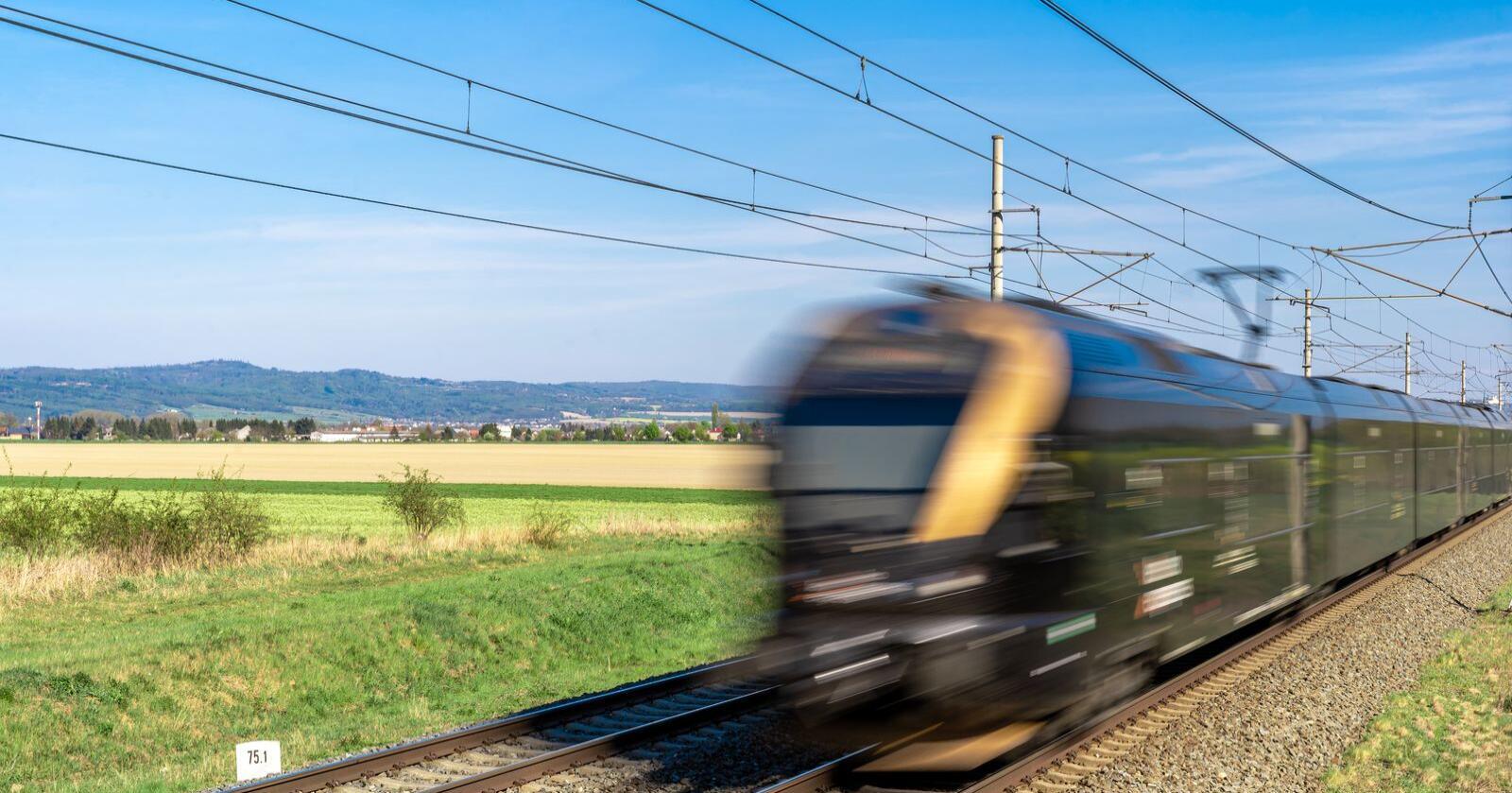 Illustrasjonsbilde av et tog: Mostphotos