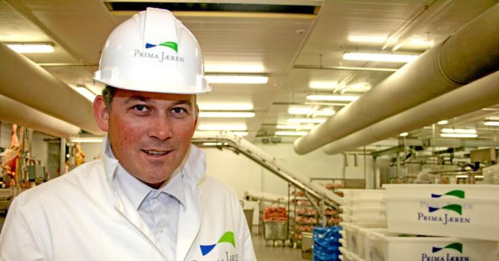 Gründer, eier og styreleder i Prima Jæren Anbjørn Øglend ser store utfordringer for norsk kjøttbransje, men har tro på framtiden for kvalitetsmerker. Foto: Bjarne Bekkenheien Aase