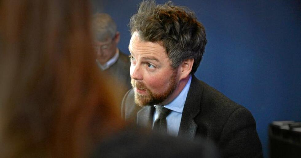 Næringsminister Torbjørn Røe Isaksen. Foto: Siri Juell Rasmussen