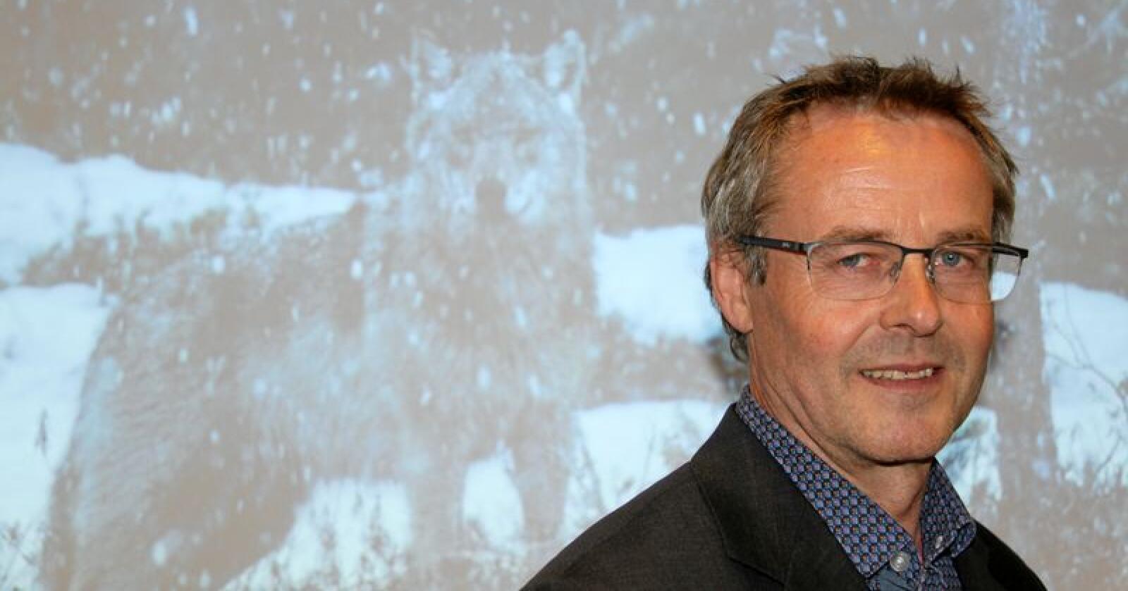 Arnodd Håpnes er fagelder for naturmangfold i Naturvernforbundet. Foto: Svein Egil Hatlevik