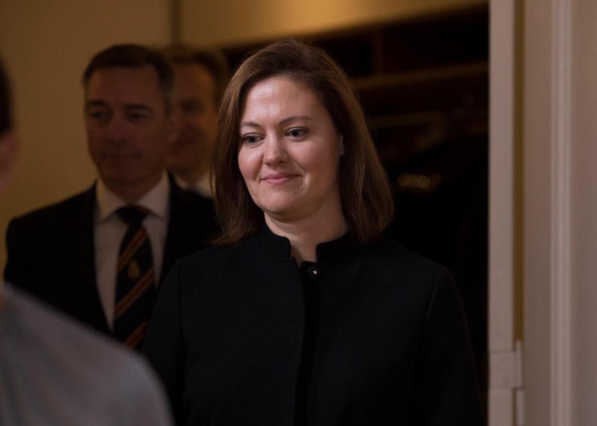 Ny strategi: Europaminister Marit Berger Røsland varslar ny EU-strategi. Foto: Mariam Butt / NTB scanpix