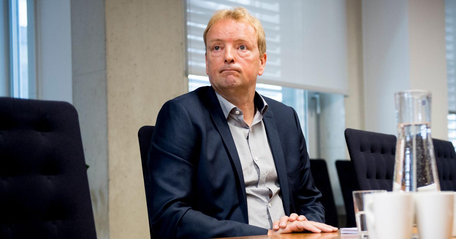 Fremskrittspartiets energipolitiske talsperson Terje Halleland savner en invitasjon til klimaforhandlinger med regjeringspartiene. Foto: Jon Olav Nesvold / NTB